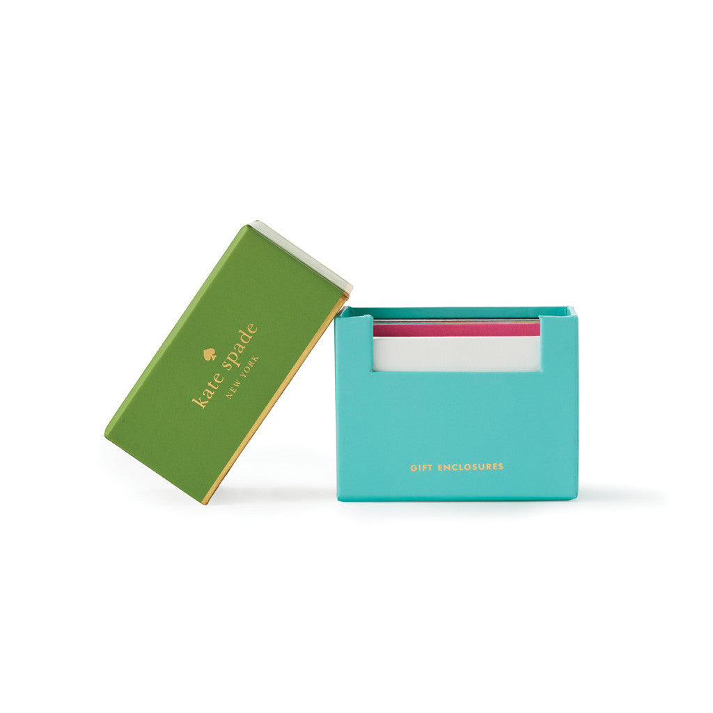 kate spade new york gift enclosures - assorted