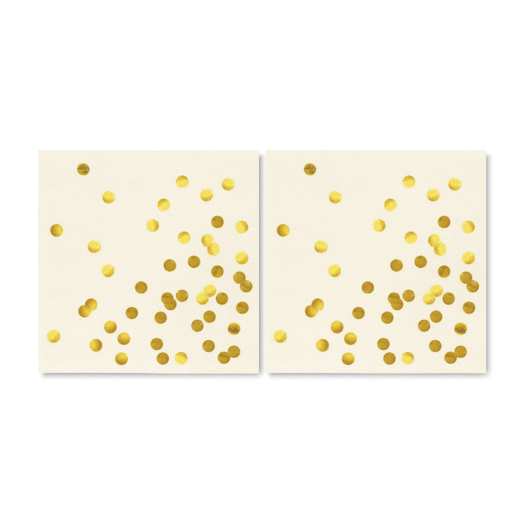 kate spade new york cocktail napkins - cue the confetti