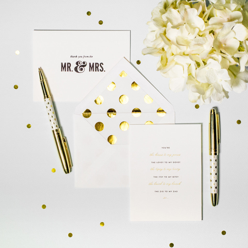kate spade new york bridal note card set - bridesmaid - lifeguard-press - 2