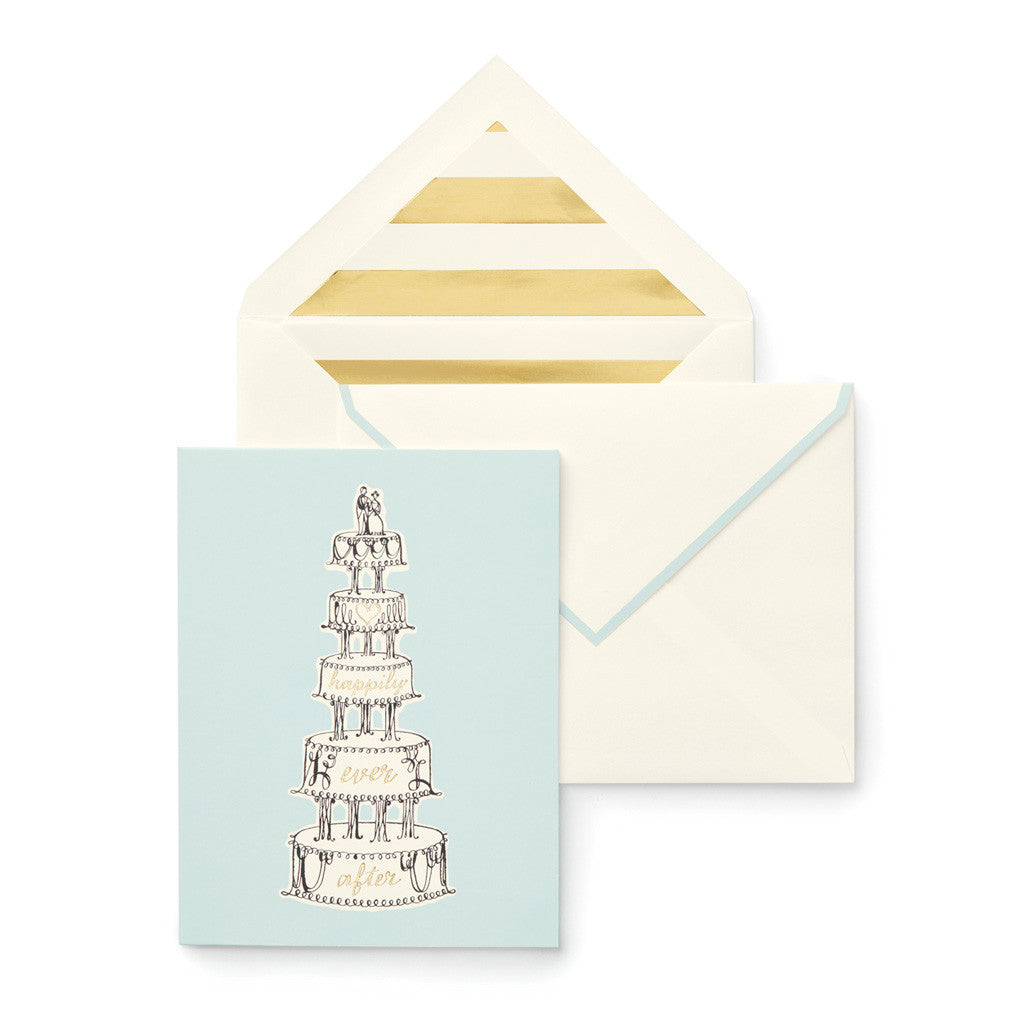 kate spade new york Individual greeting card - happily ever after