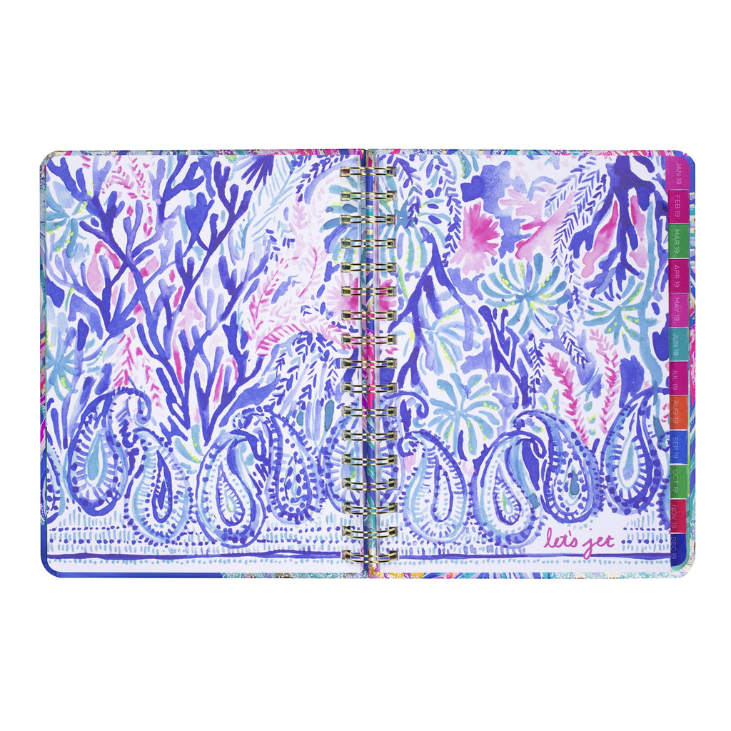 lilly pulitzer 17 month large agenda - Gypset