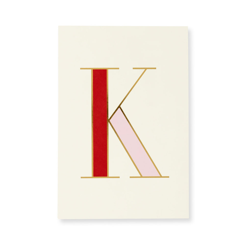 kate spade new york Initial Notepad, K