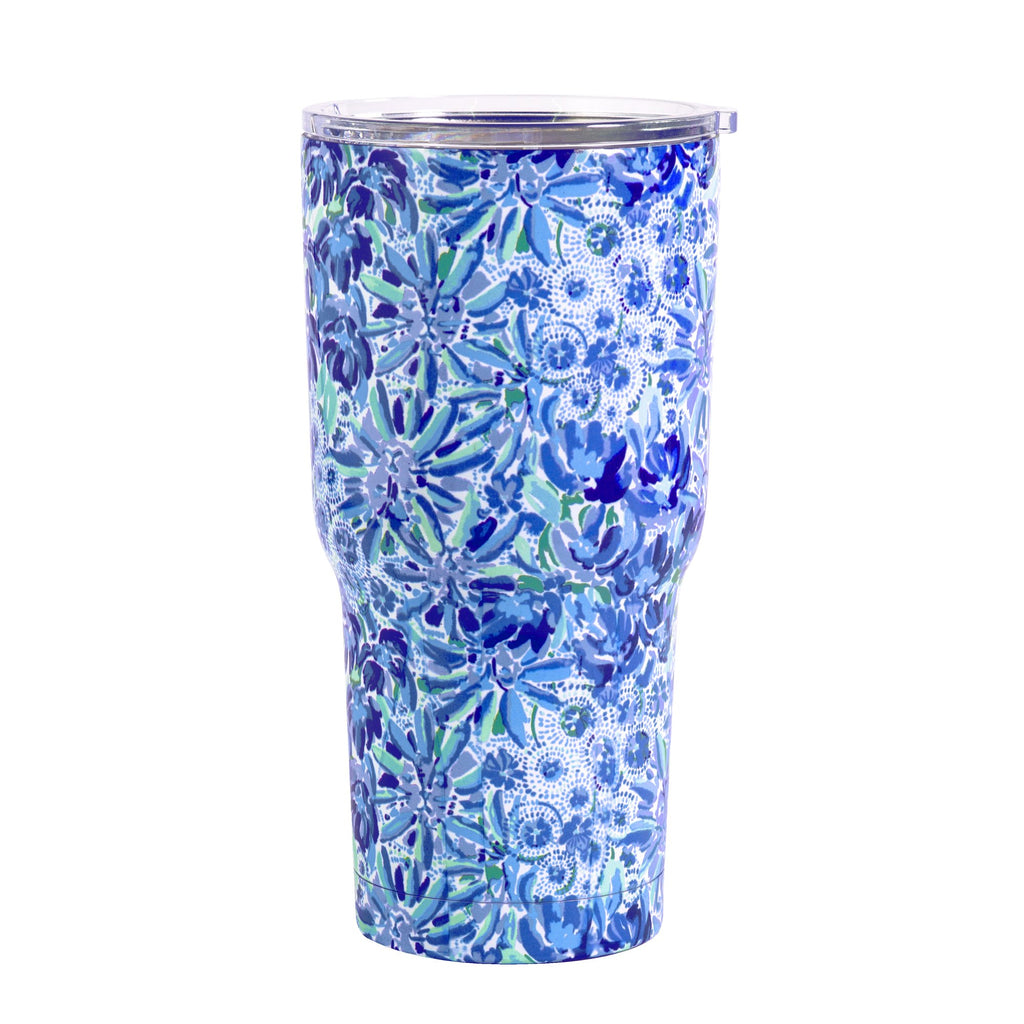 Lilly Pulitzer Stainless Steel Tumbler, High Manetenance