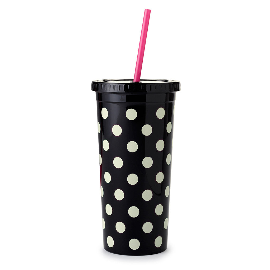 kate spade new york tumbler with straw 20 oz - le pavilion - lifeguard-press