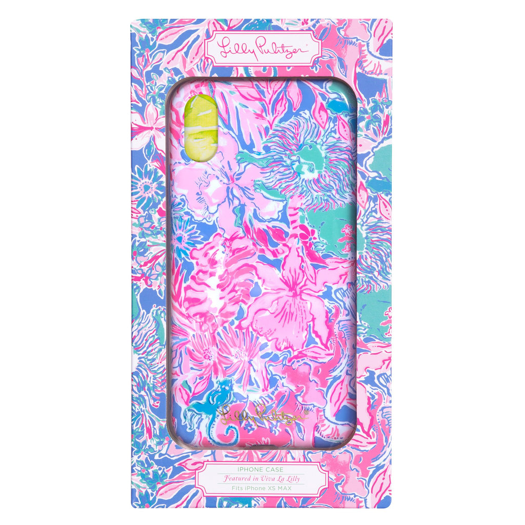 Lilly Pulitzer iPhone Xs Max Case, Viva La Lilly