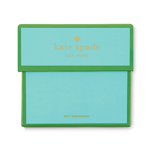 kate spade new york gift enclosures - thought that counts - lifeguard-press - 2