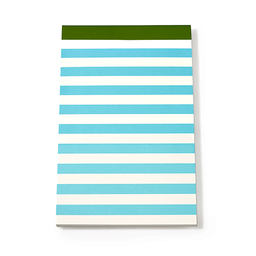 kate spade new york candy stripe notepad set - lifeguard-press - 3