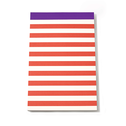 kate spade new york candy stripe notepad set - lifeguard-press - 2