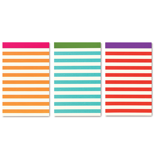 kate spade new york candy stripe notepad set - lifeguard-press - 6