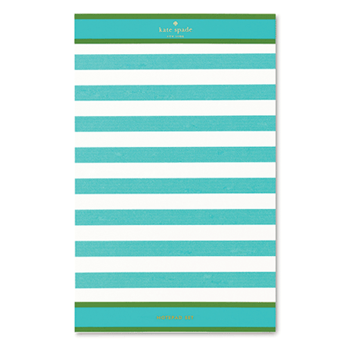 kate spade new york candy stripe notepad set - lifeguard-press - 5
