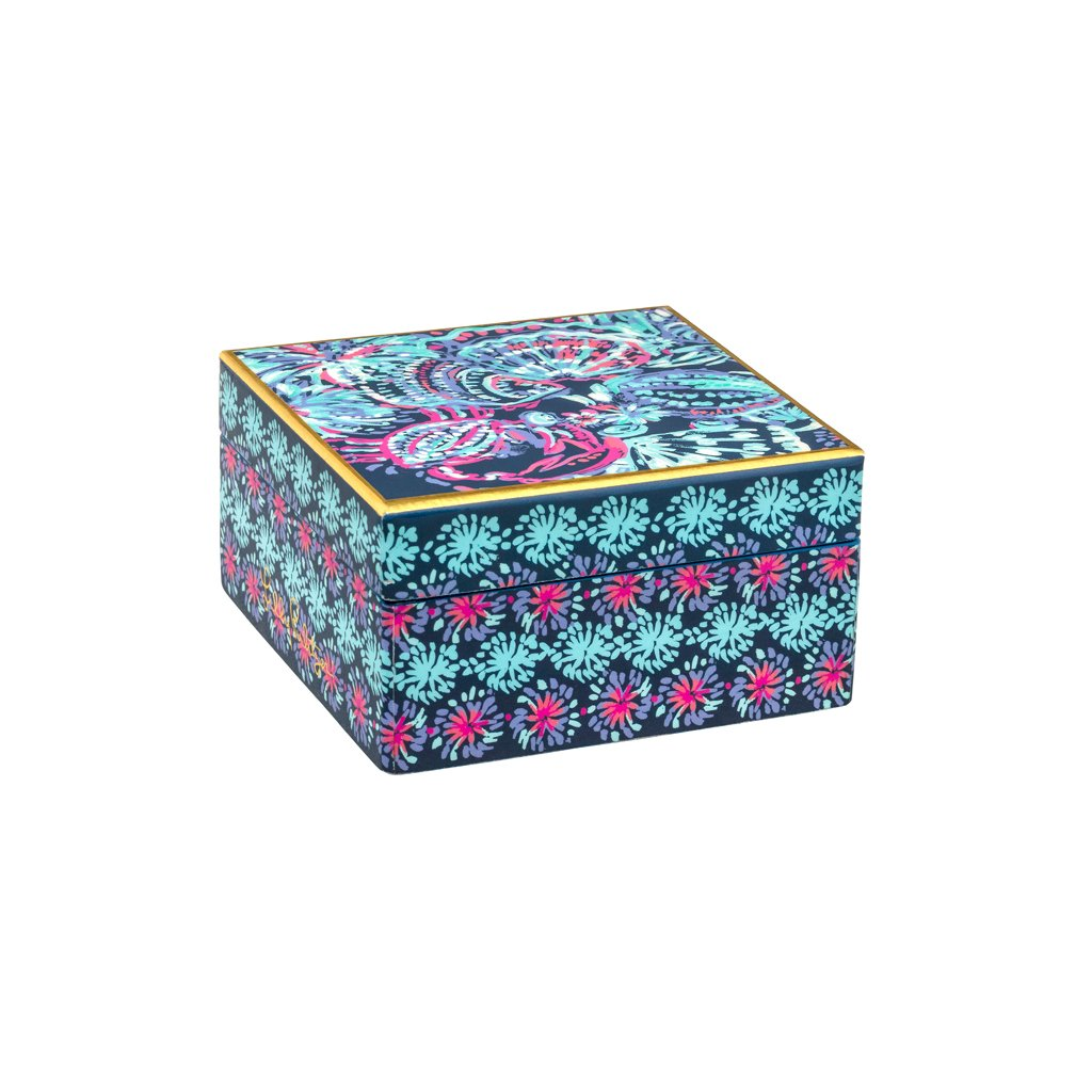 Lilly Pulitzer Lacquer Box - Gypsea Girl