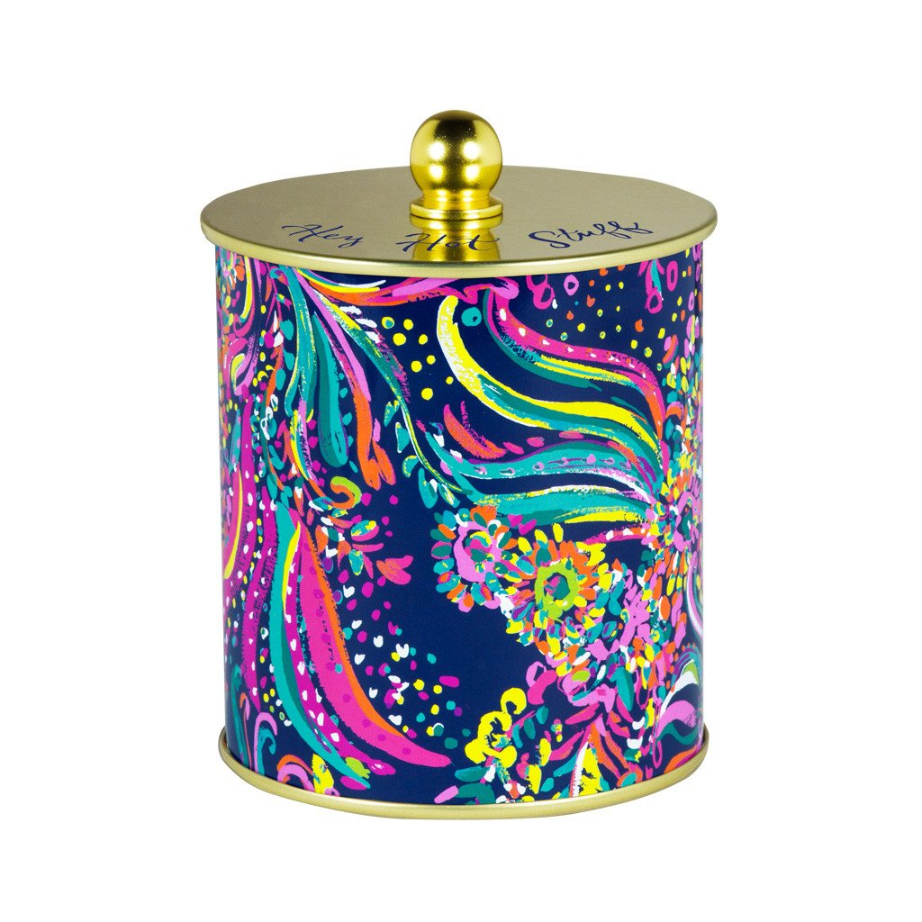 Lilly Pulitzer Large Candle, Beach Loot