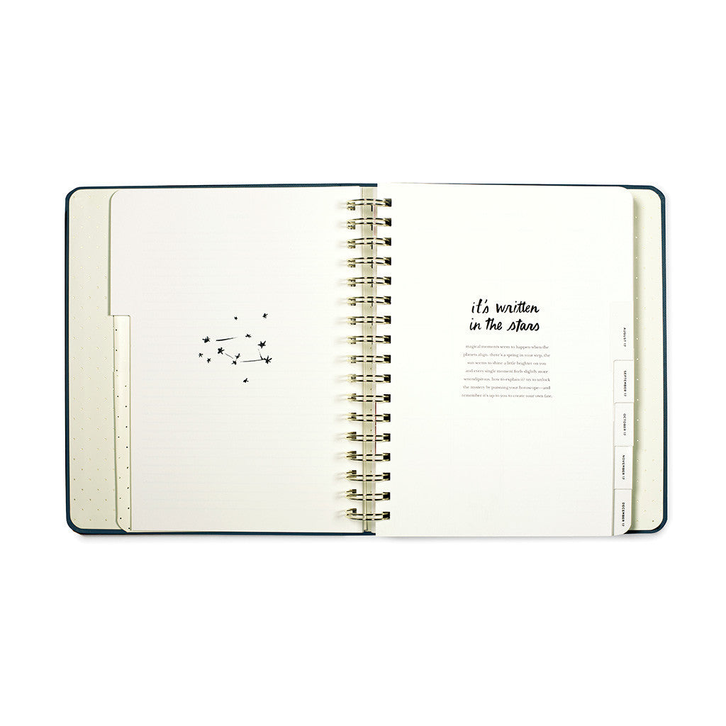 kate spade new york 17 month large agenda - written in the stars
