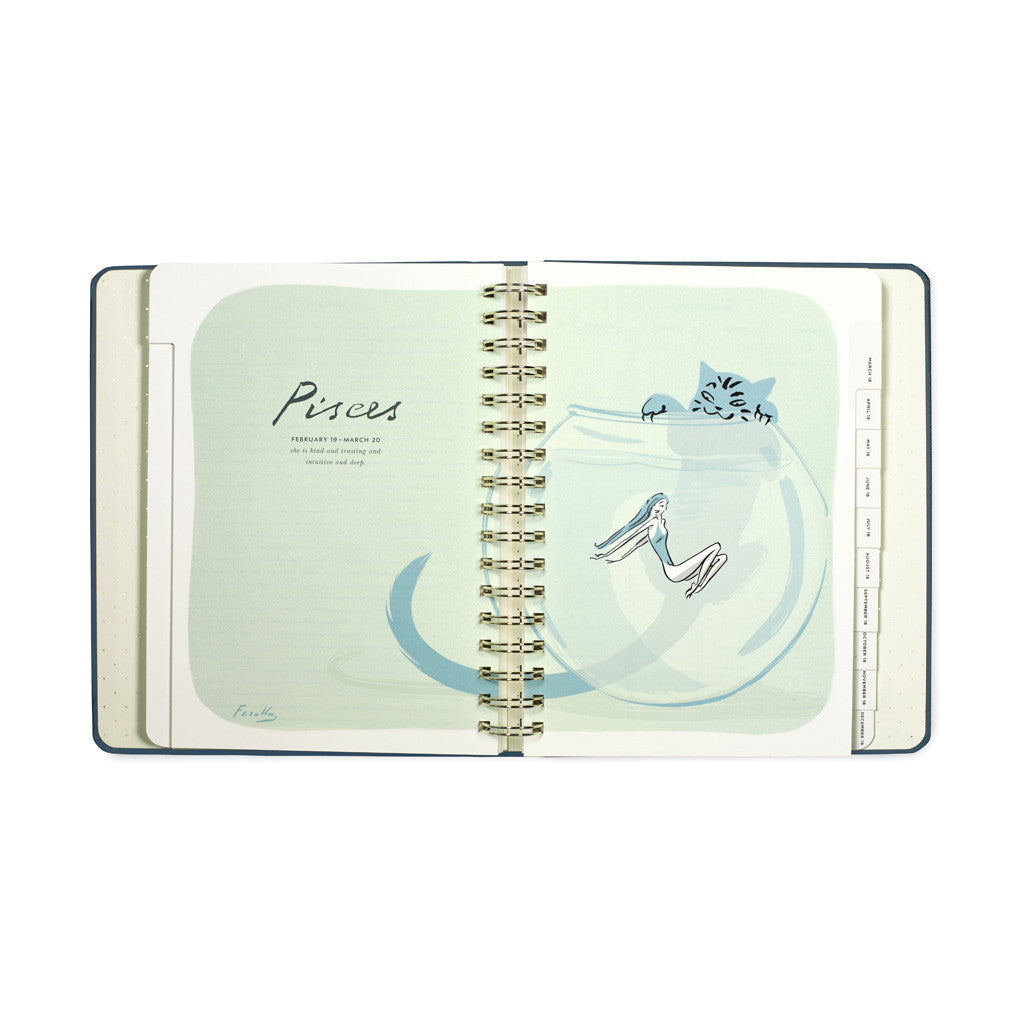 kate spade new york 17 month mega agenda - written in the stars