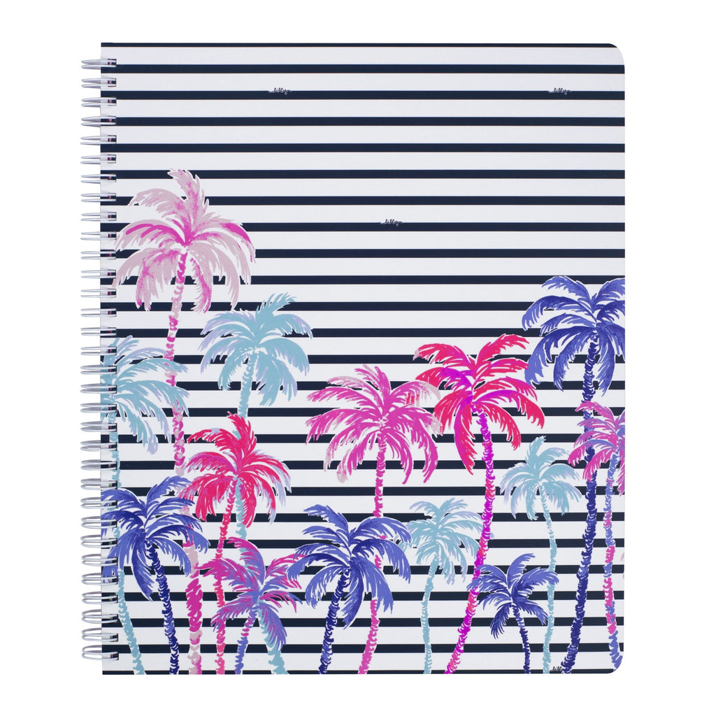 Lilly Pulitzer Large Notebook, Desert Palm