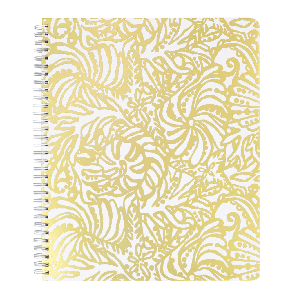 Lilly Pulitzer Large Notebook, Beach Haven