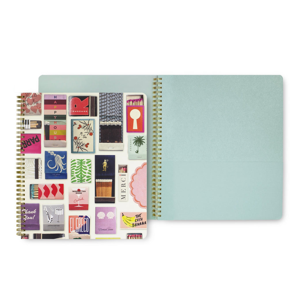 kate spade new york Large Spiral Notebook, Matchboook
