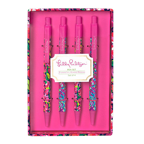 Lilly Pulitzer Pen Set - lifeguard-press
