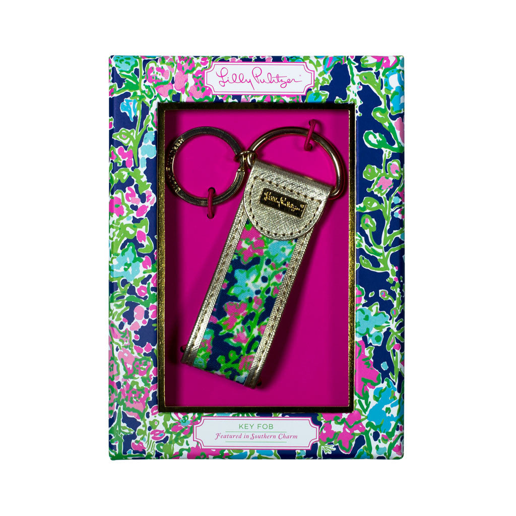 Lilly Pulitzer Key Fob - Southern Charm - lifeguard-press - 1