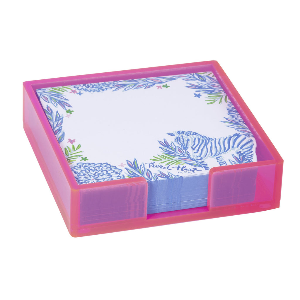 Lilly Pulitzer small list pad, Lion Around