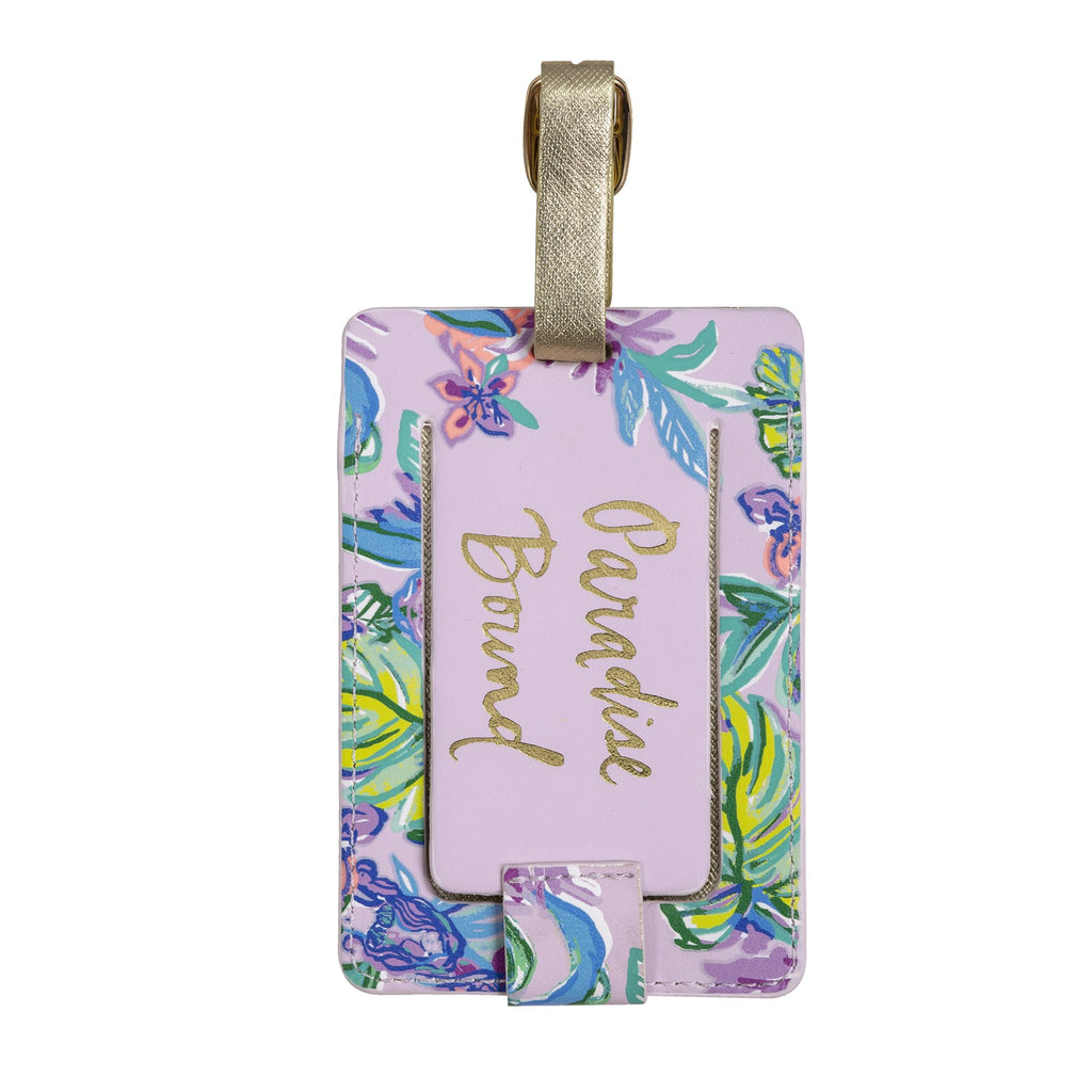 Lilly Pulitzer Luggage Tag, Mermaid in the Shade