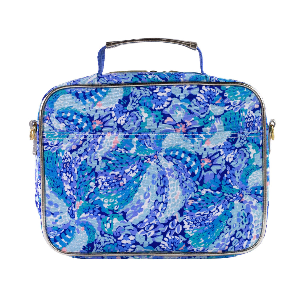 Lilly Pulitzer Lunch Bag, Wave After Wave