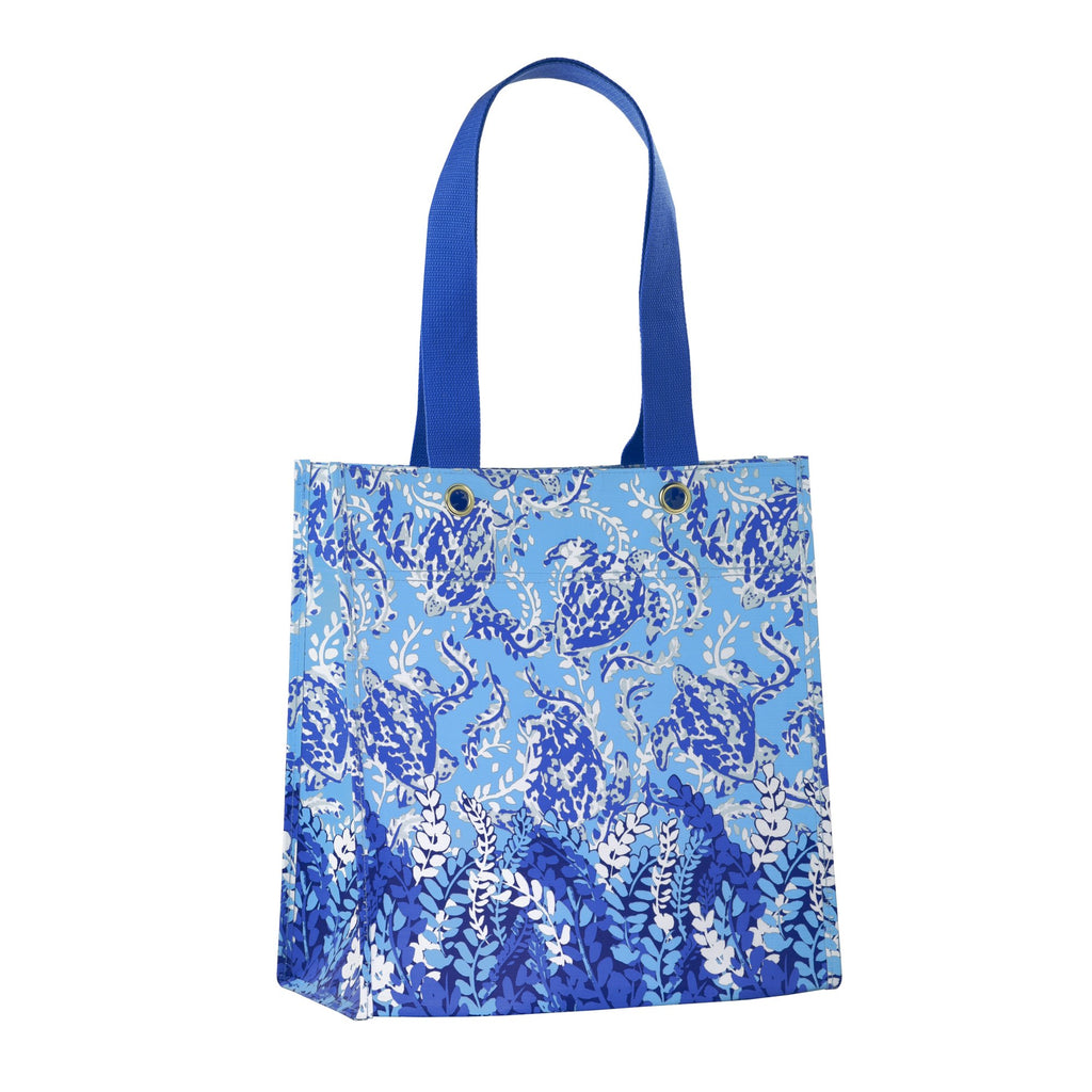 Lilly Pulitzer Market Shopper, Turtley Awesome