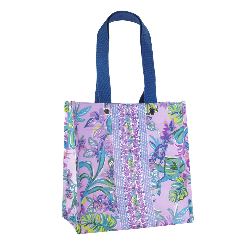 Lilly Pulitzer Market Tote, Mermaid in the Shade