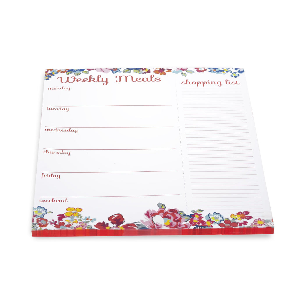 Meal Planner, Pretty Posies