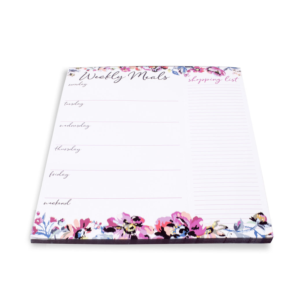 Vera Bradley Meal Planner with magnet, Indiana Rose