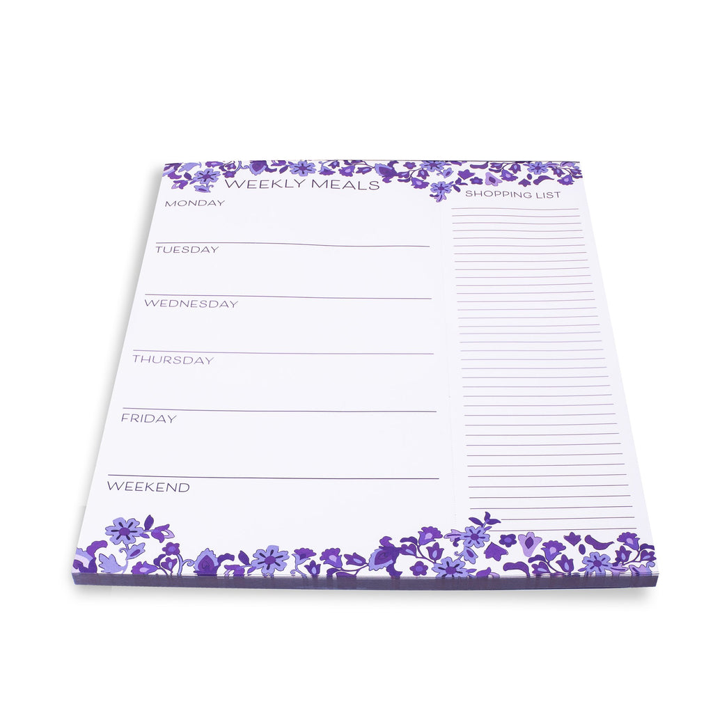 Vera Bradley Meal Planner with magnet, Regal Rosette