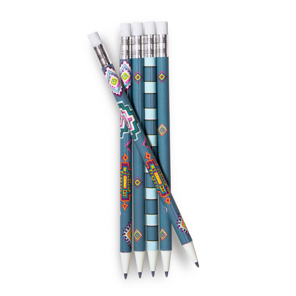 Vera Bradley Mechanical Pencils - Painted Medallions