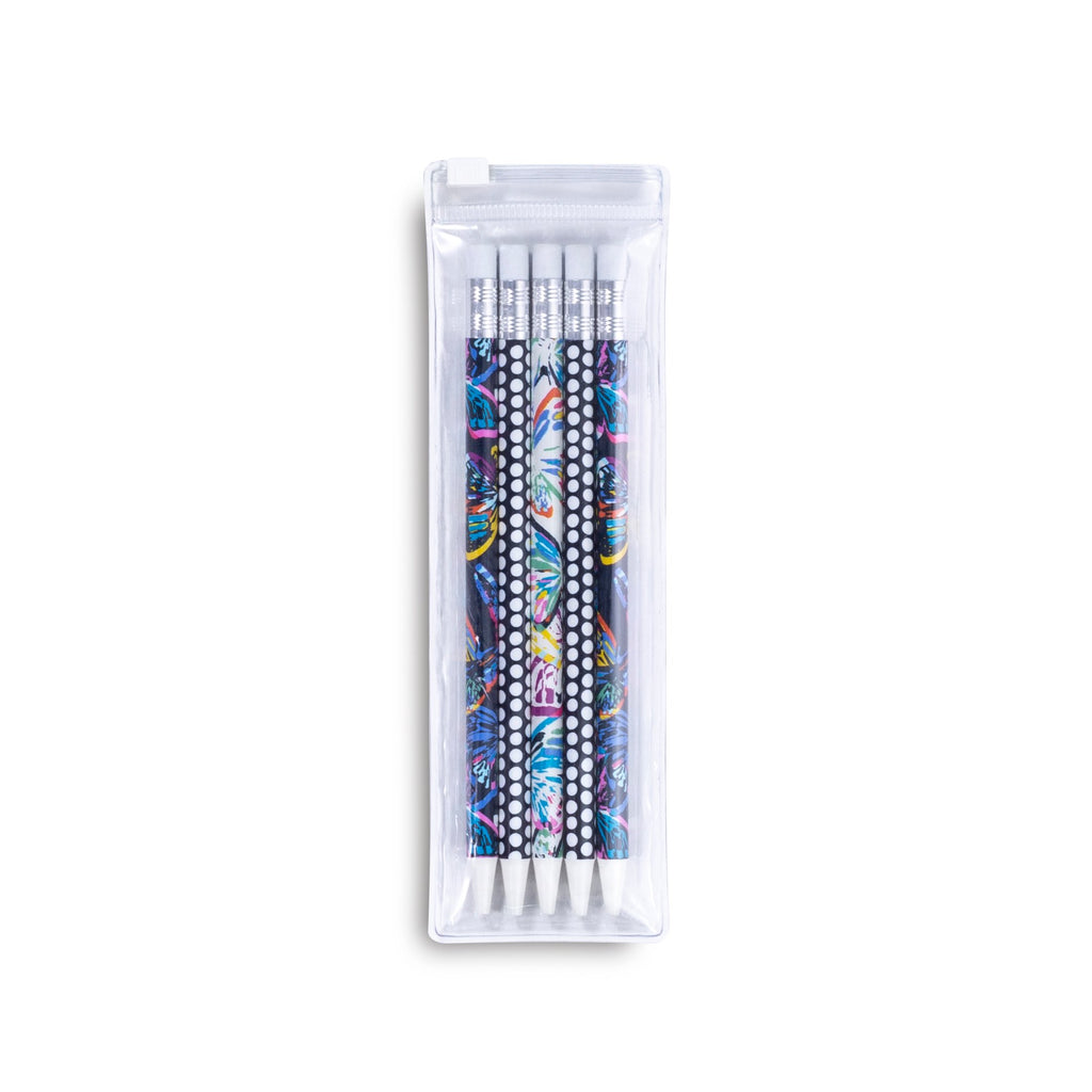 Vera Bradley Mechanical Pencils, Butterfly Flutter Multi
