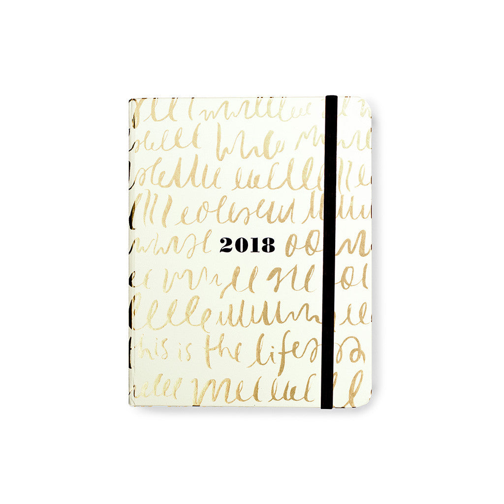 kate spade new york 17 month medium agenda - this is the life