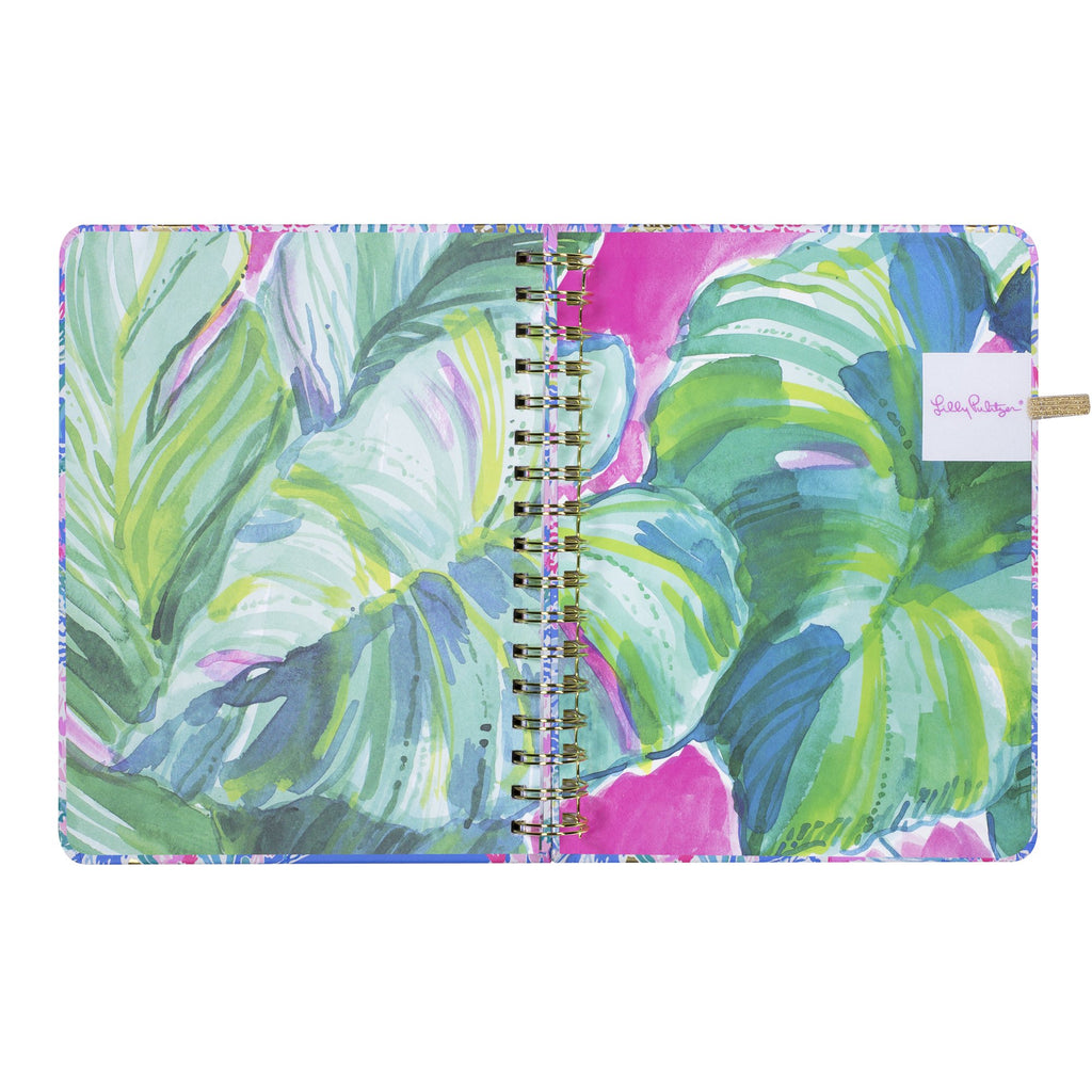 lilly pulitzer 17 month large agenda - Mermaid cove