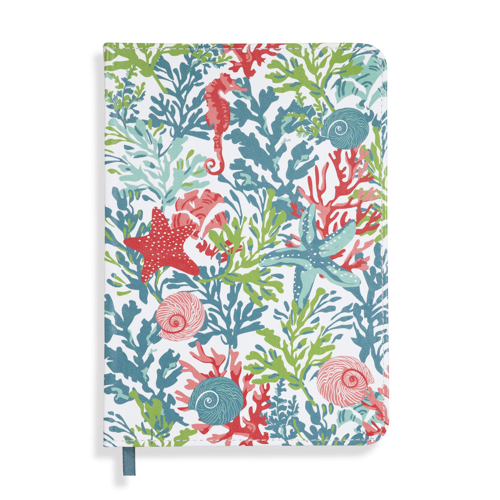 Vera Bradley Leatherette Journal, Shore Thing