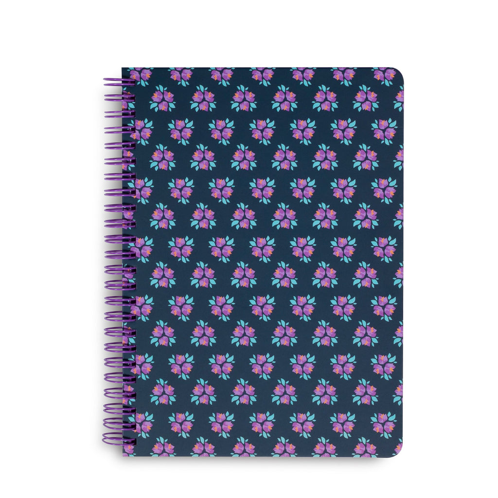 Vera Bradley Mini Notebook With Pocket, Dream Blossoms