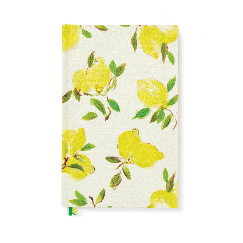 kate spade new york word to the wise journal - lemons