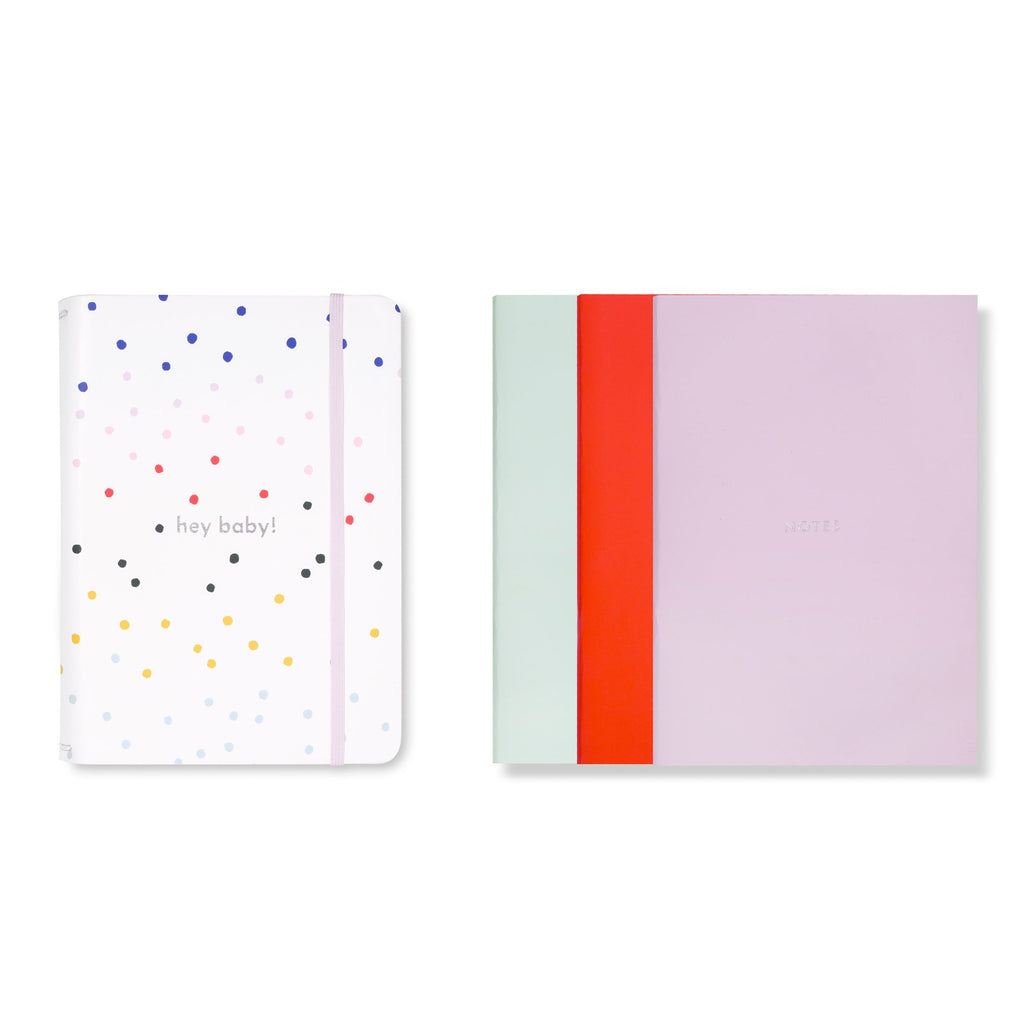 kate spade new york Triple Notebook Folio Set, Dancing Dot