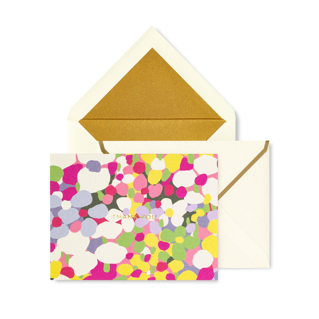 kate spade new york Thank You Card Set, Daisy Dot