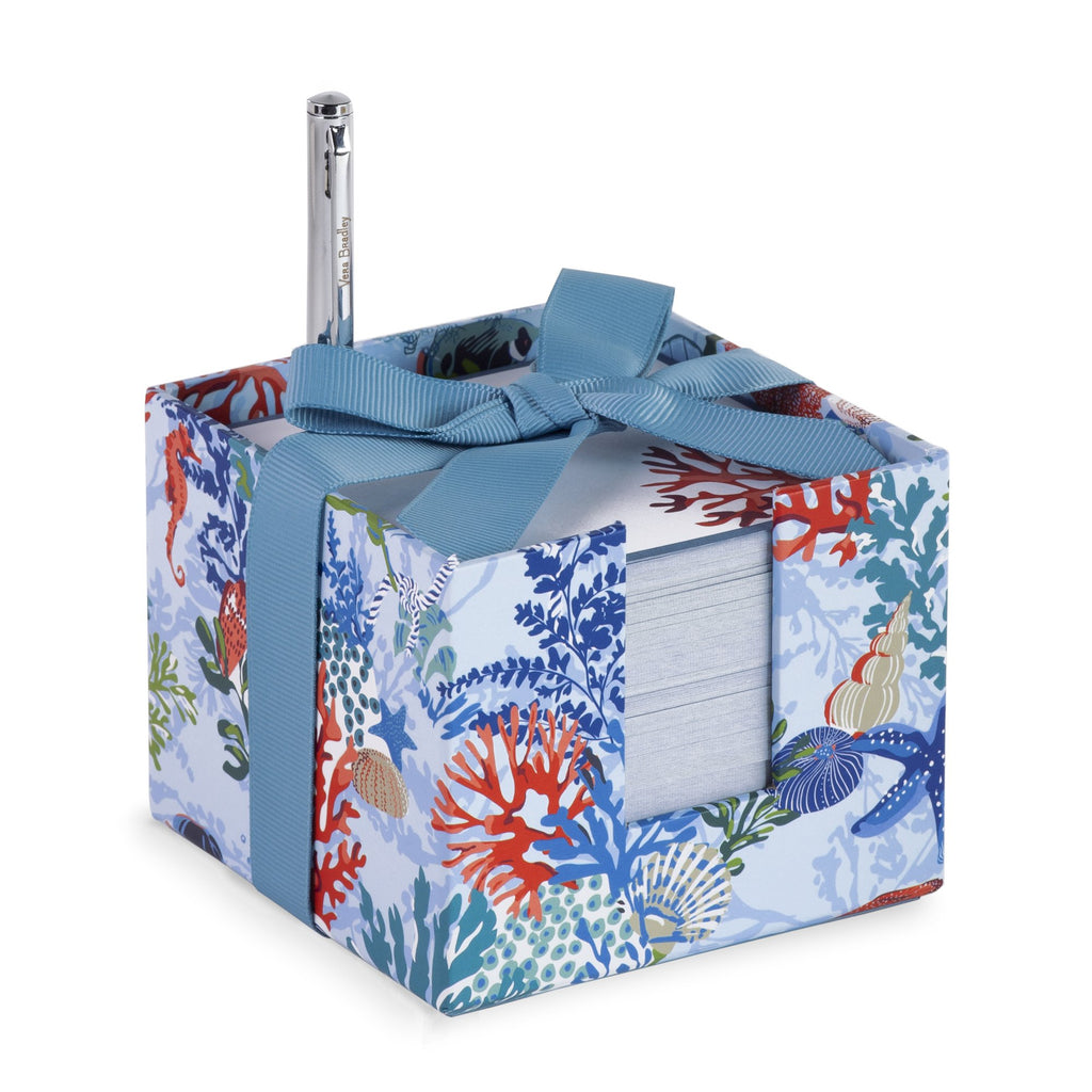 Vera Bradley Notecube, Shore Thing