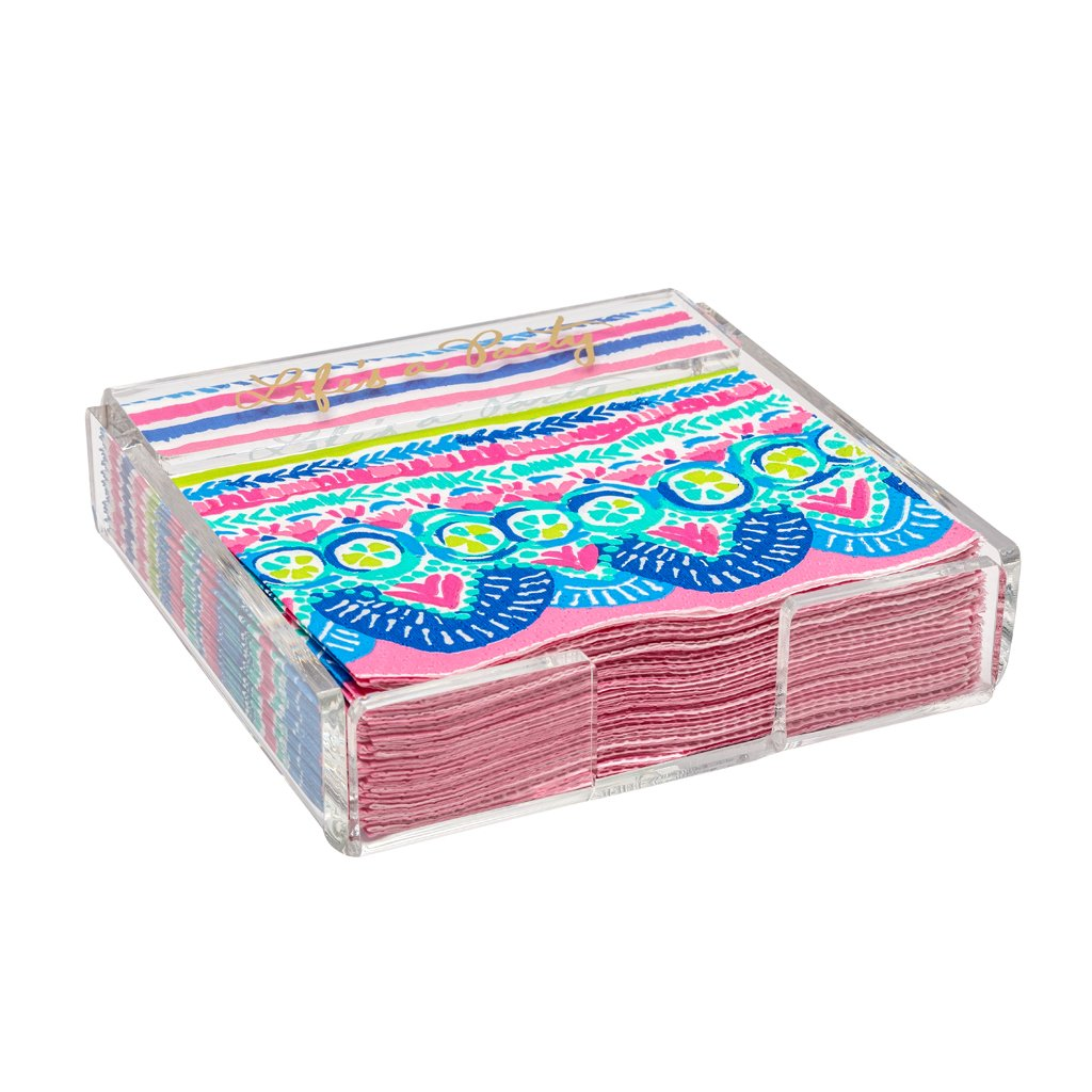 Lilly Pulitzer Paper Napkins - Catch The Wave