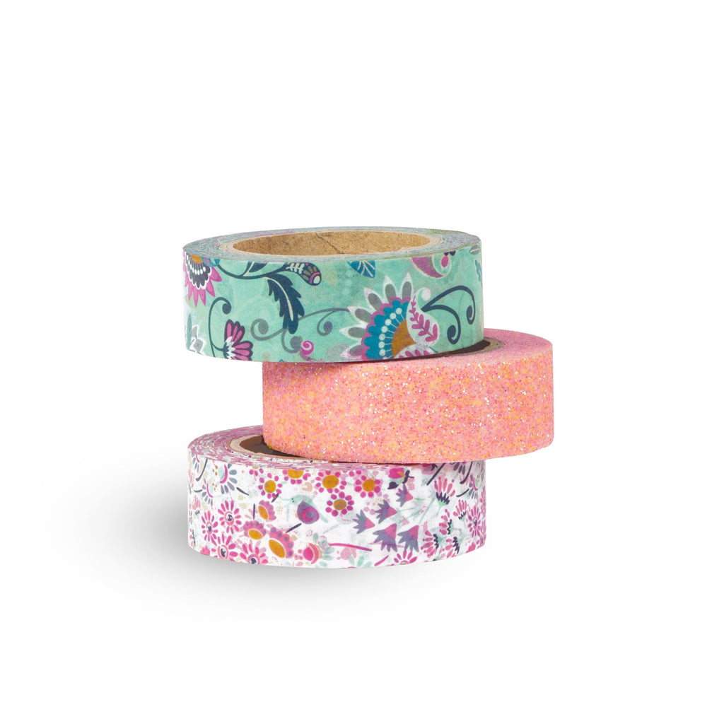 Vera Bradley Decorative Tape, Mint Flowers