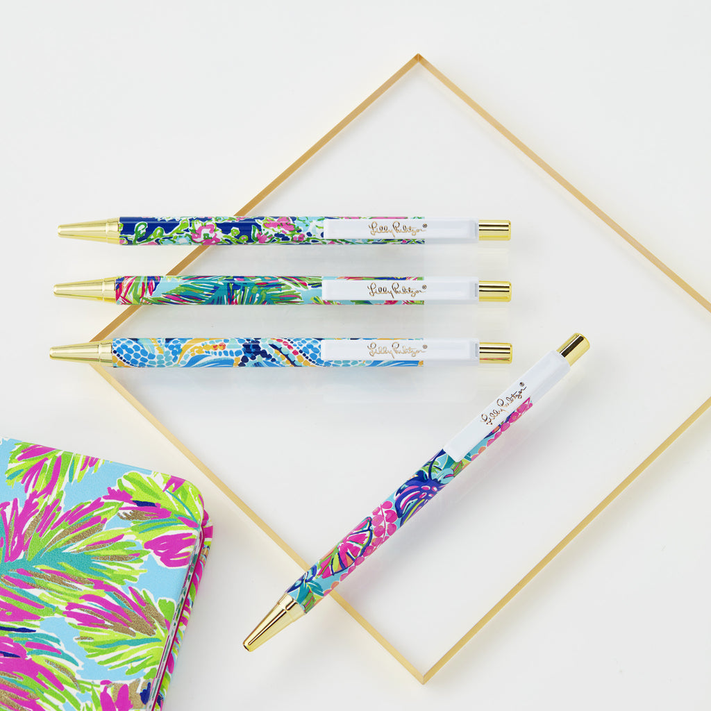 Lilly Pulitzer Pen Set - Various Patterns - lifeguard-press - 2