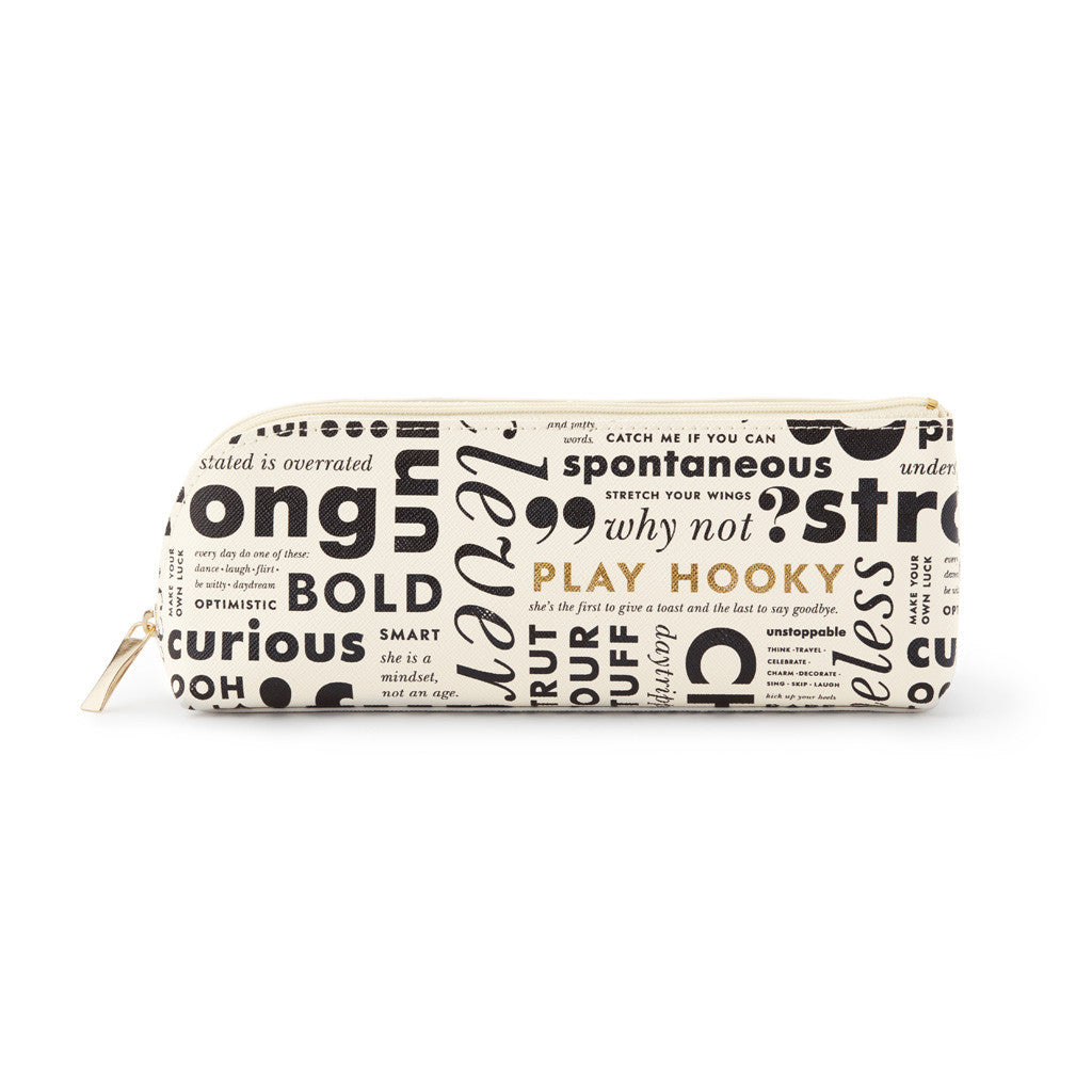 kate spade new york Pencil Case - What Do You Say