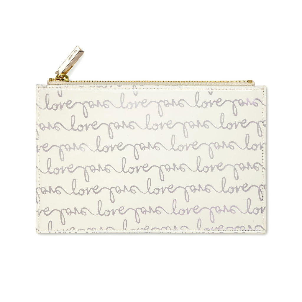 kate spade new york Pencil Pouch - Love Script