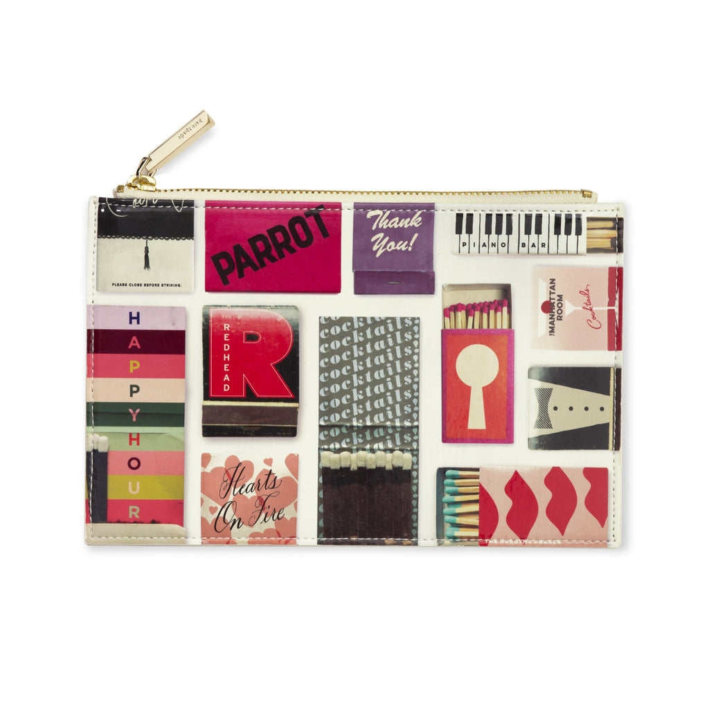 kate spade new york Pencil Pouch, Matchbook