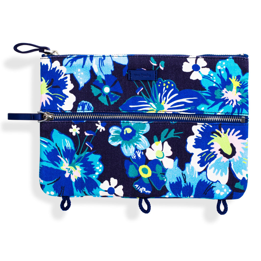 Vera Bradley Pencil Pouch, Moonlight Garden