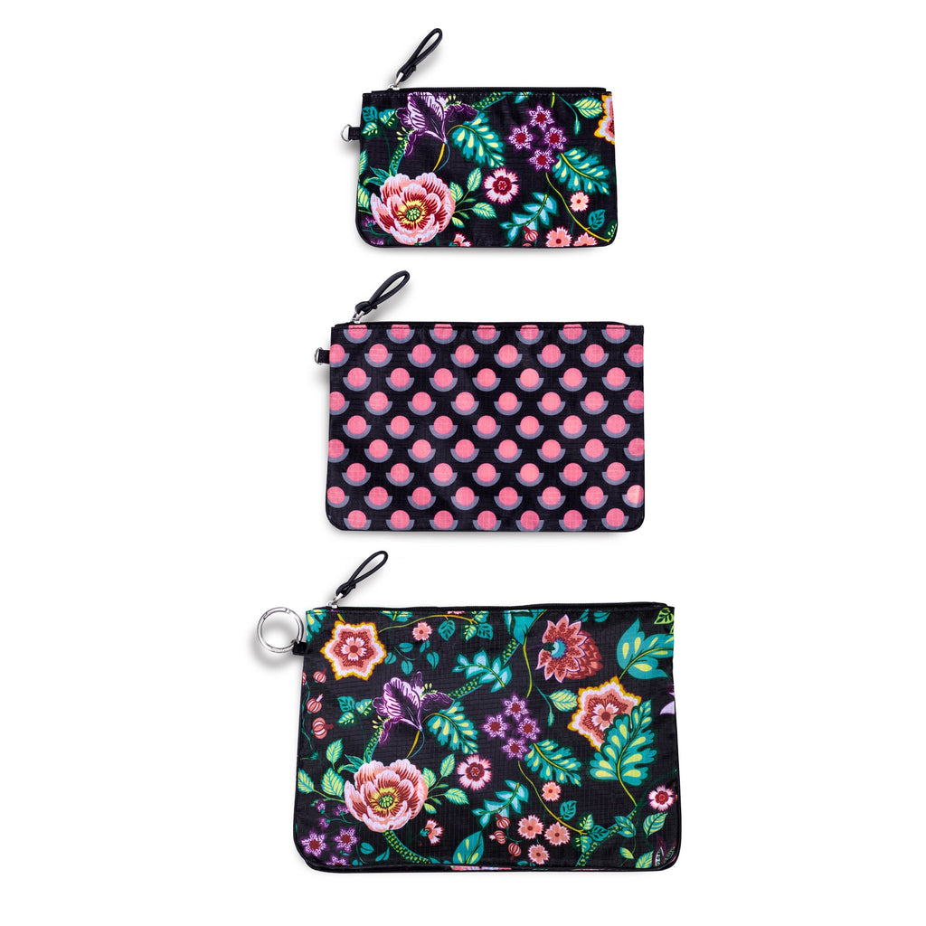 Vera Bradley Trio Bag Set, Vines Floral