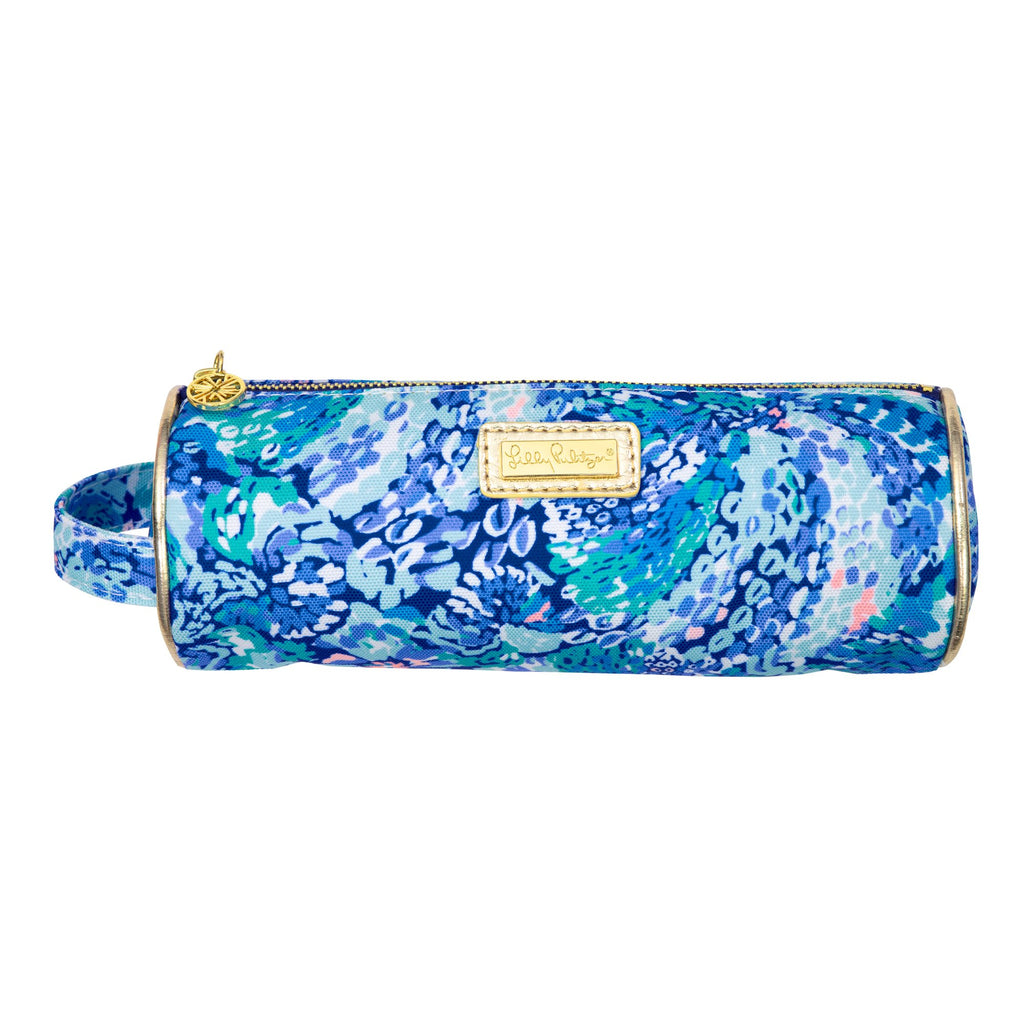 Lilly Pulitzer Pencil Pouch, Wave After Wave